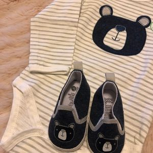 Baby Gear One Pieces - Onesie and matching shoes